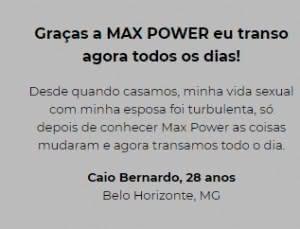 Max Power Preço