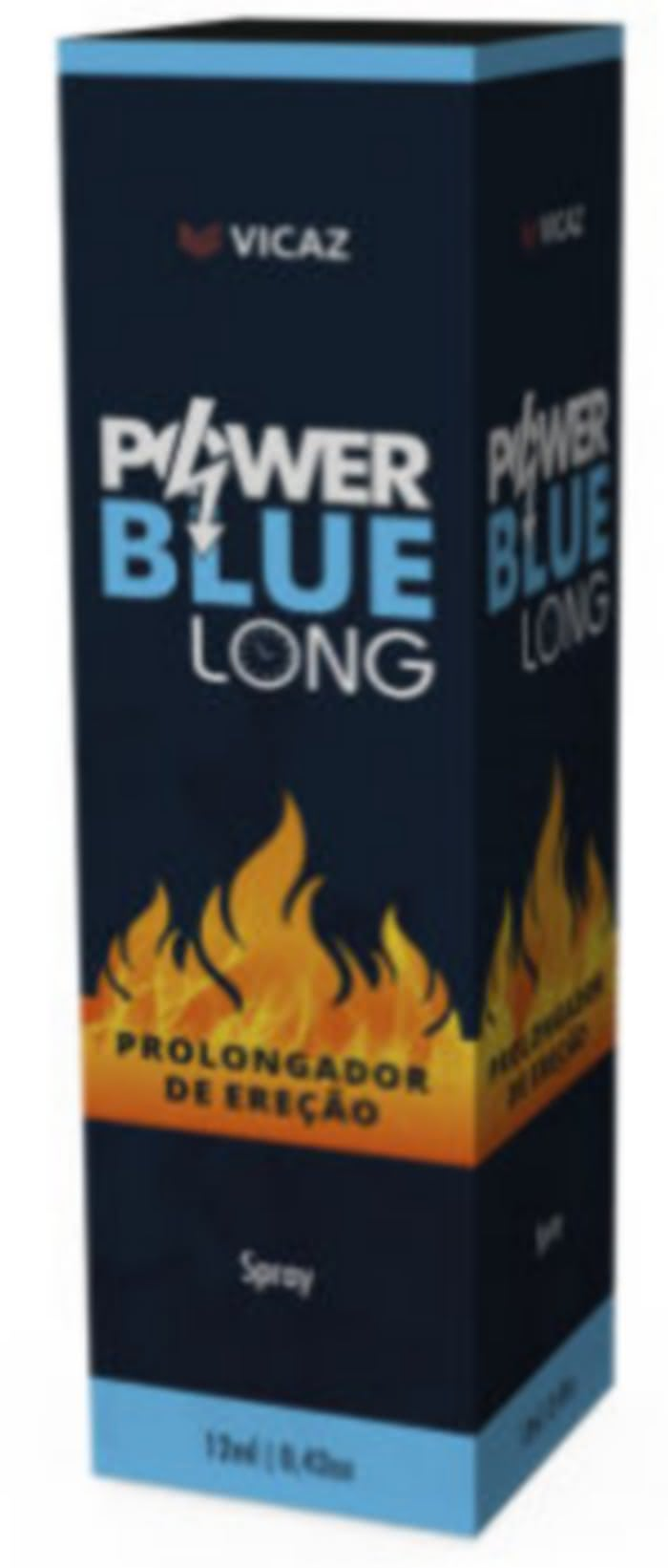 Power Blue Long Bula