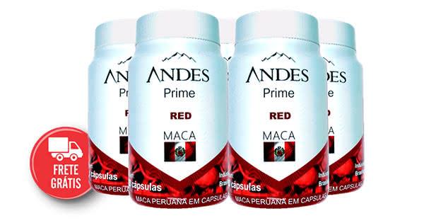 Andes prime red maca bula