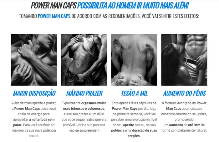 Power Man Caps Farmácia