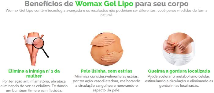 Womax Gel Lipo Bula