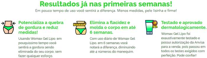 Womax Gel Lipo Funciona