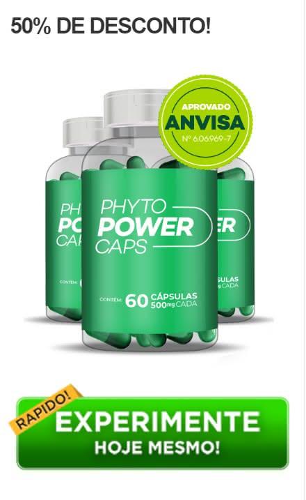 Phyto Power Caps bula