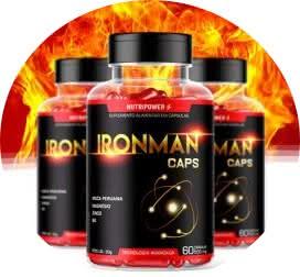 Folha IronMan Caps