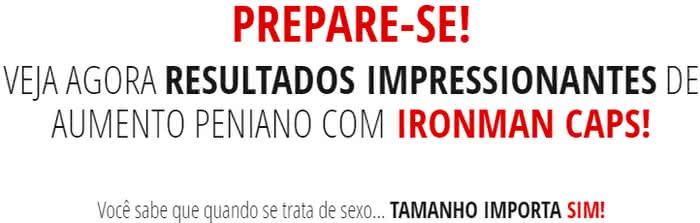 IronMan Caps Bula