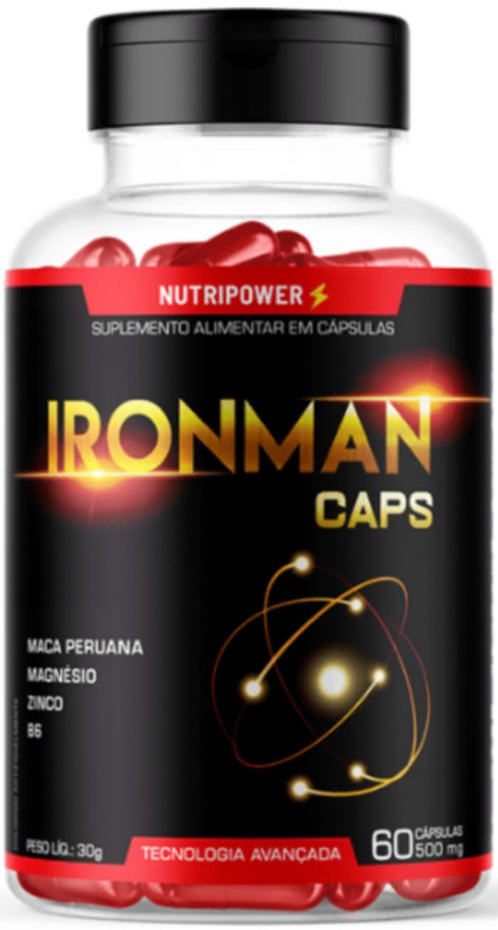 IronMan Caps Comprar