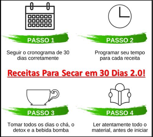 Receitas Para Secar em 30 Dias 2.0
